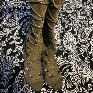Knee High Boot Shoe